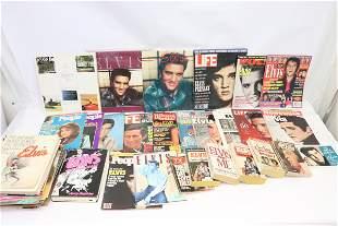Large lot of vintage Elvis items