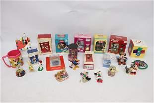 Lot of new miniature toys, Disney, Keepsake & more