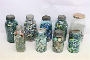 Large collection of vintage marbles
