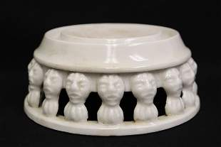 Chinese Song style white porcelain stand