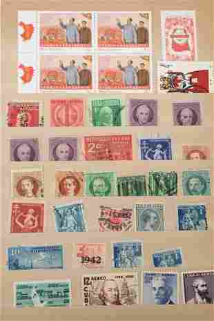 Lot of Chinese stamps