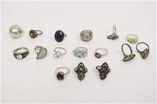 15 sterling rings