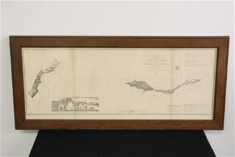 antique map dated 1856