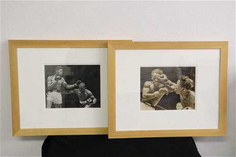 2 early 20th century boxing photos