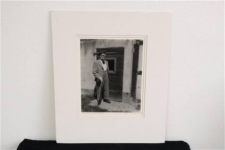 """""""August Sander, Kuhnhausen"""" by Edgar Bissantz"""