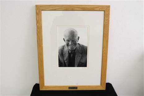 Gelatin silver print on paper by Sid Avery