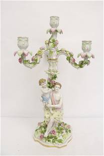 Beautiful Dresden candelabra