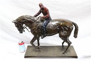 Bronze sculpture by Isidore Jules Bonheur