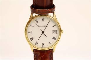 Man's Tiffany and co wrist watch