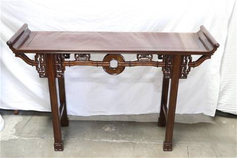 Fine Chinese rosewood altar table