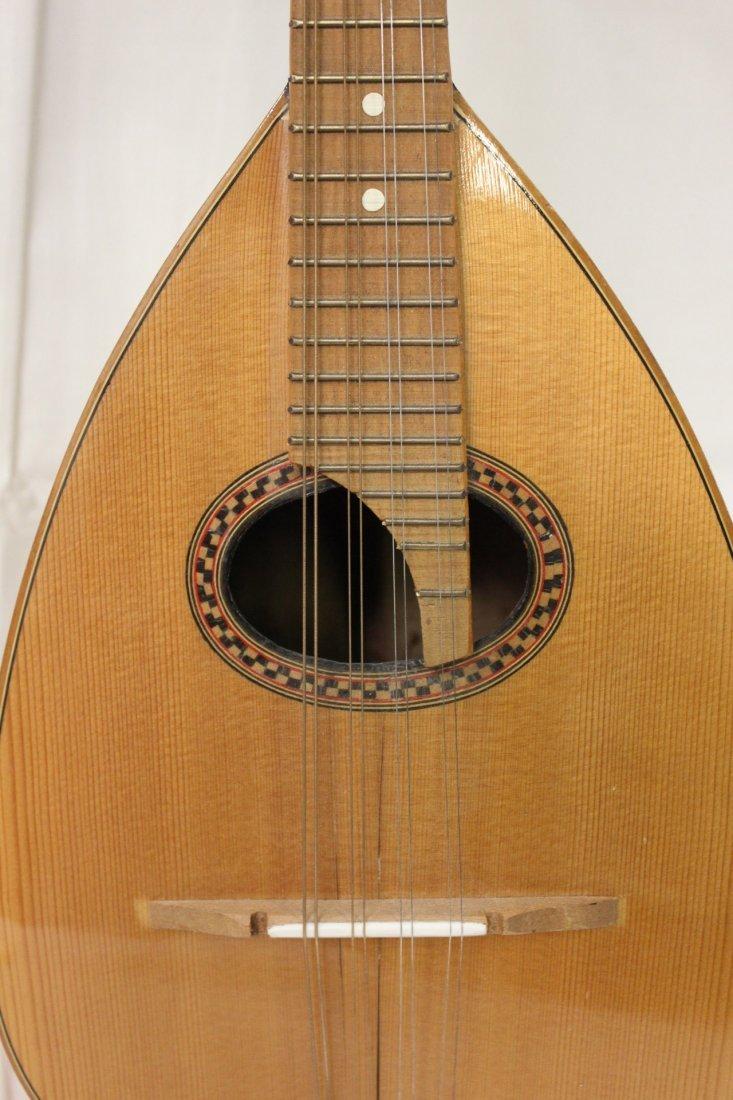 185: Italian mandolin by Leuteria Meazzi - 6