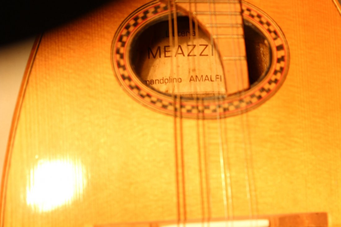 185: Italian mandolin by Leuteria Meazzi - 7