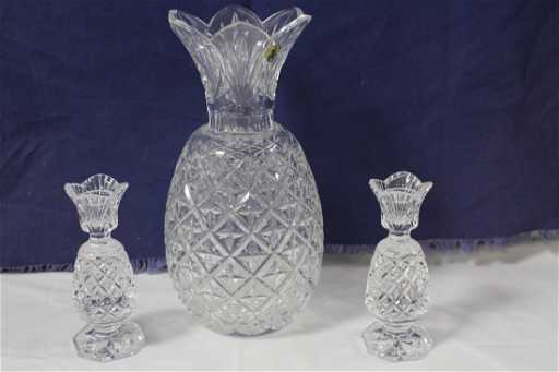 625 Waterford Crystal Pineapple Vase