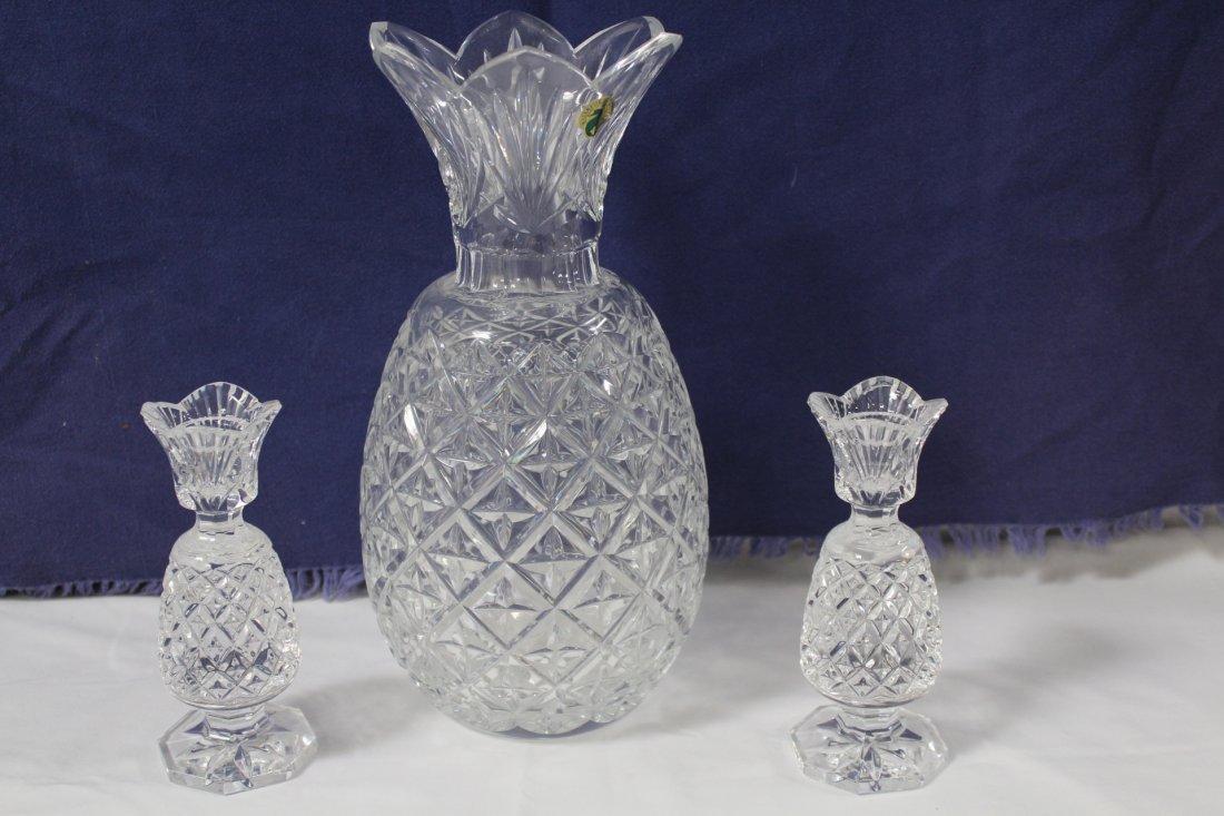 Waterford crystal pineapple vase 625 waterford crystal pineapple vase reviewsmspy