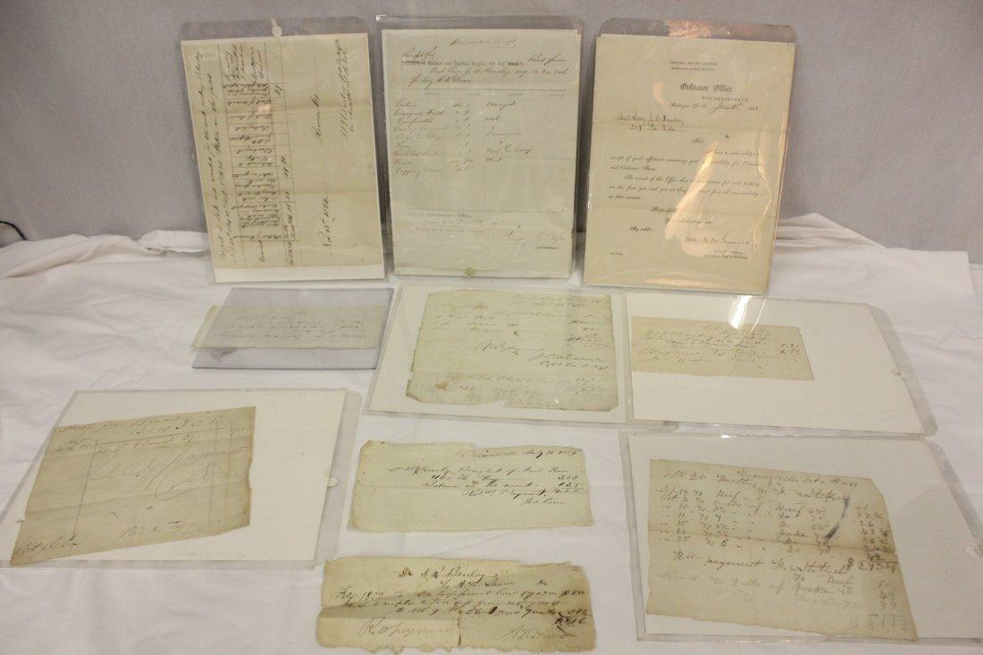 118: 10 Civil War medical expense records