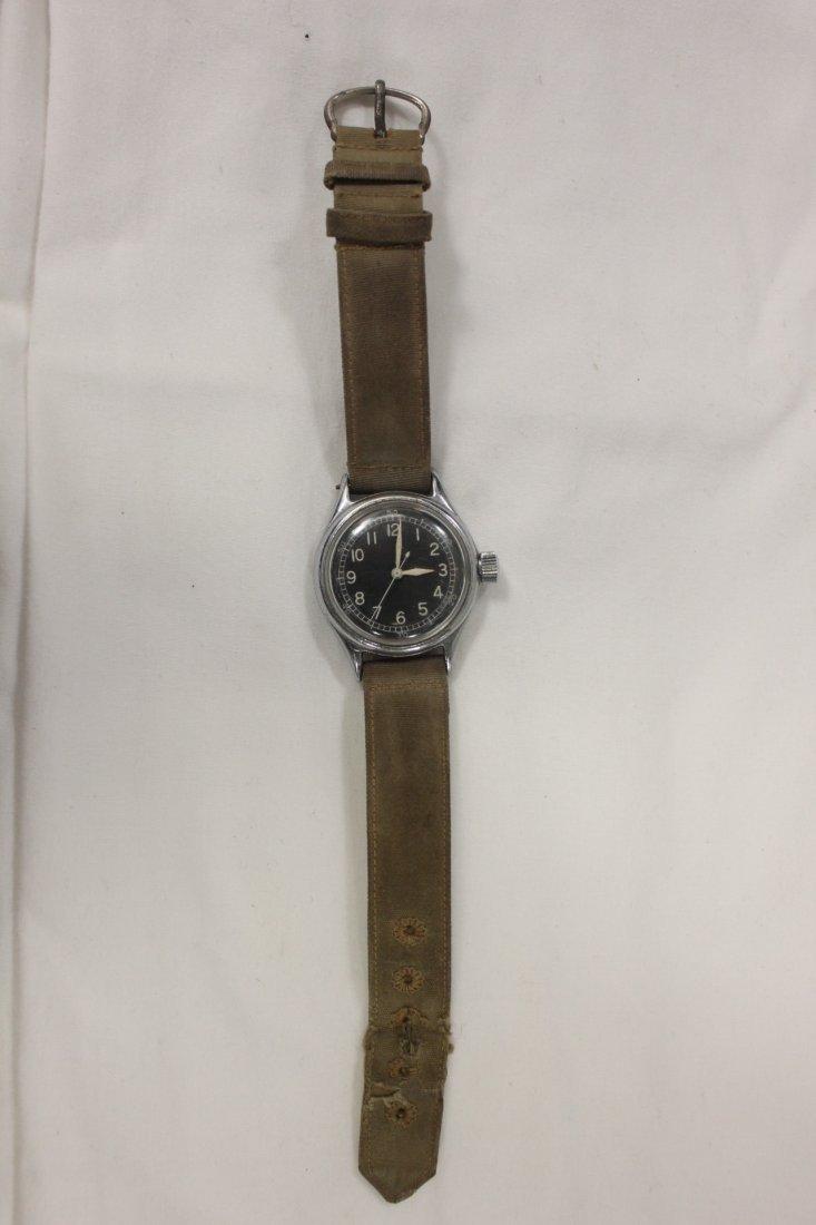 124: WWI US airman wrist watch by Bulova