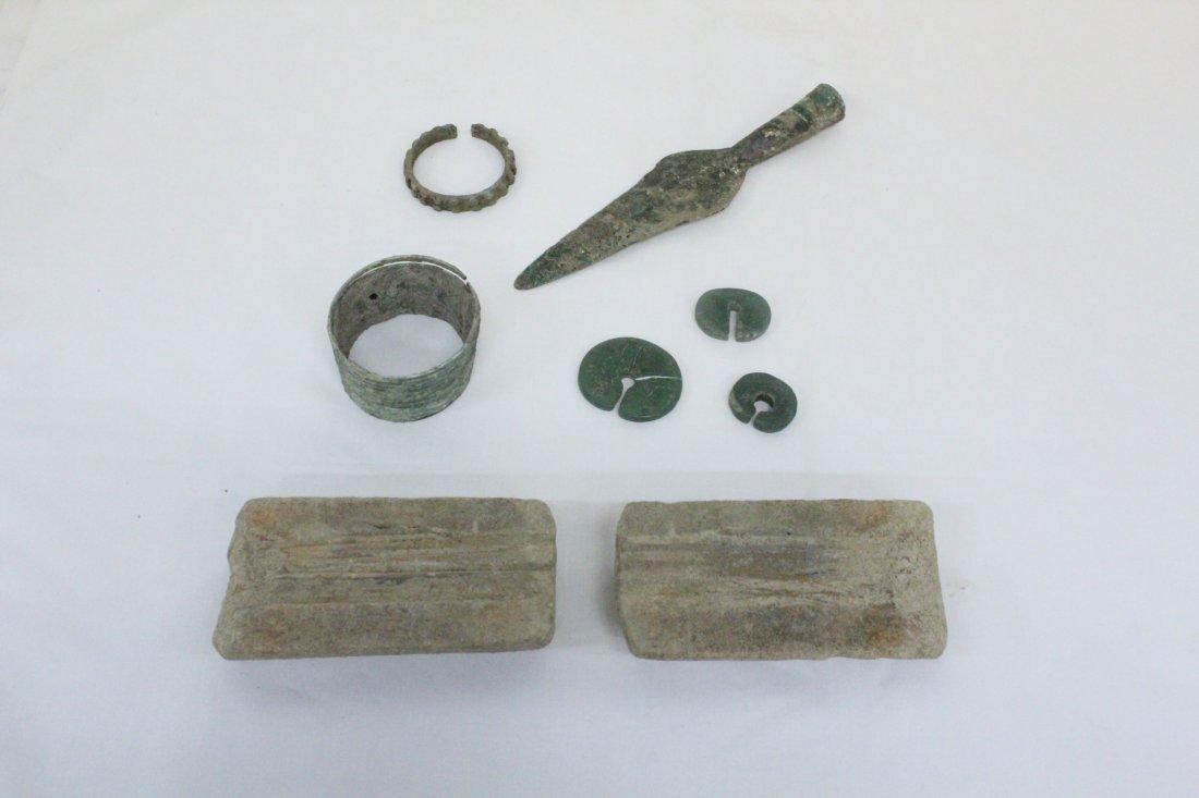 120: 8pc Luristan/Roman antiques