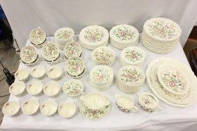 Royal Doulton china set in Monmouth pattern, 118pc