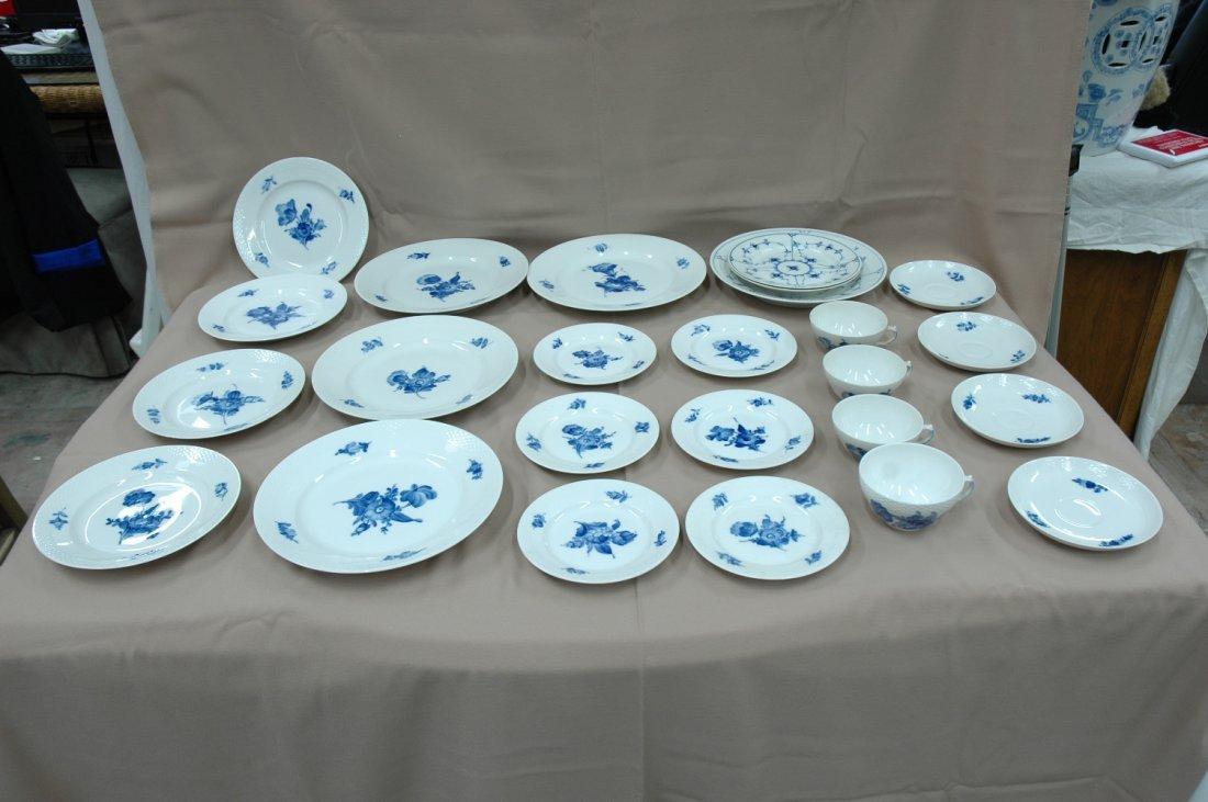 Royal Copenhagen china set, total 25pc