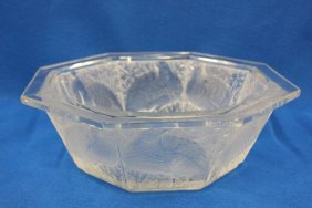 Center Bowl, Attributed To Lalique
