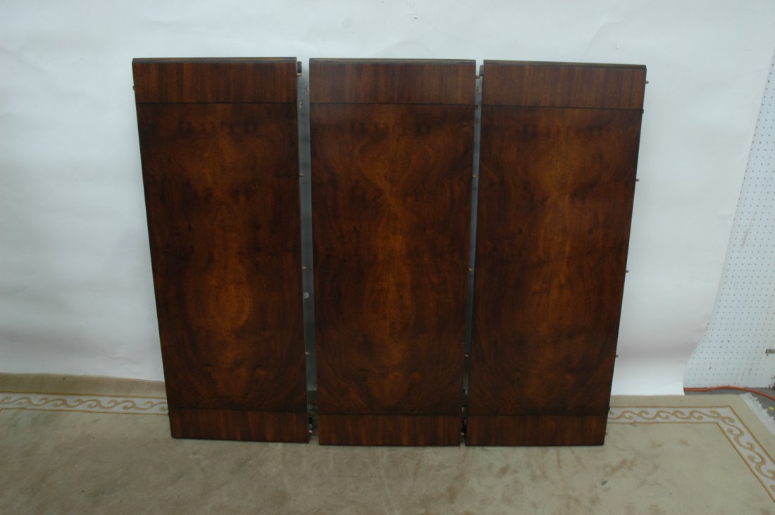 10pc walnut dining room set by Karges - 8