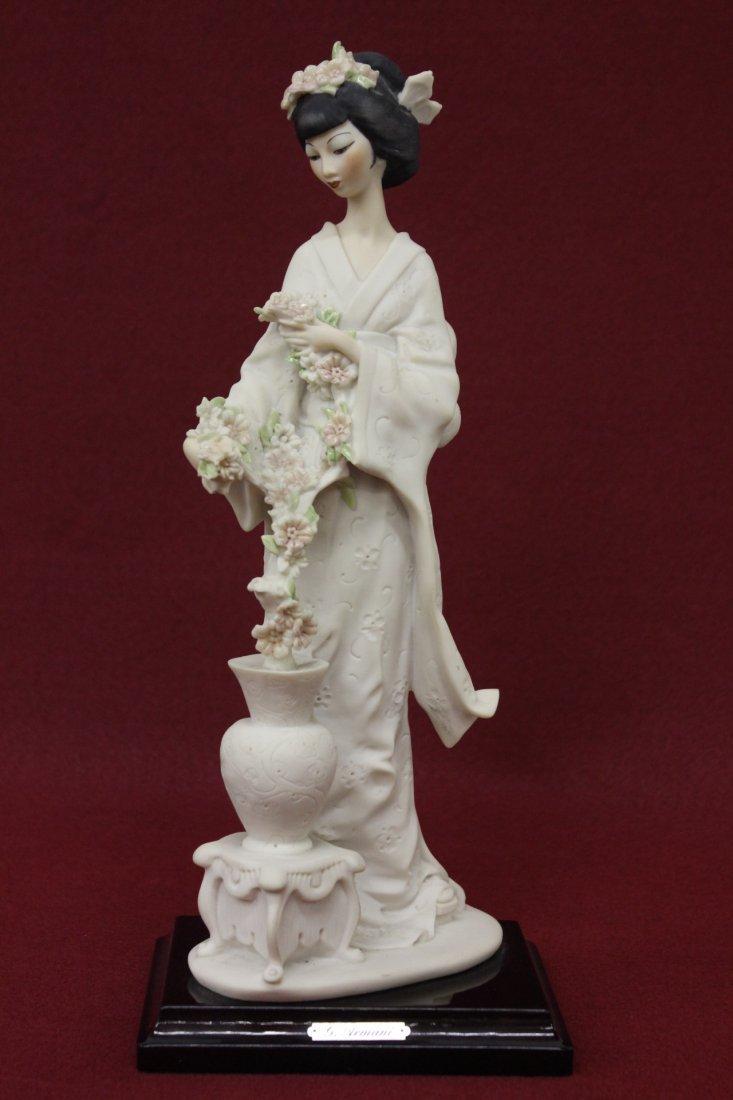 Beautiful Japanese lady figurine by G. Armani