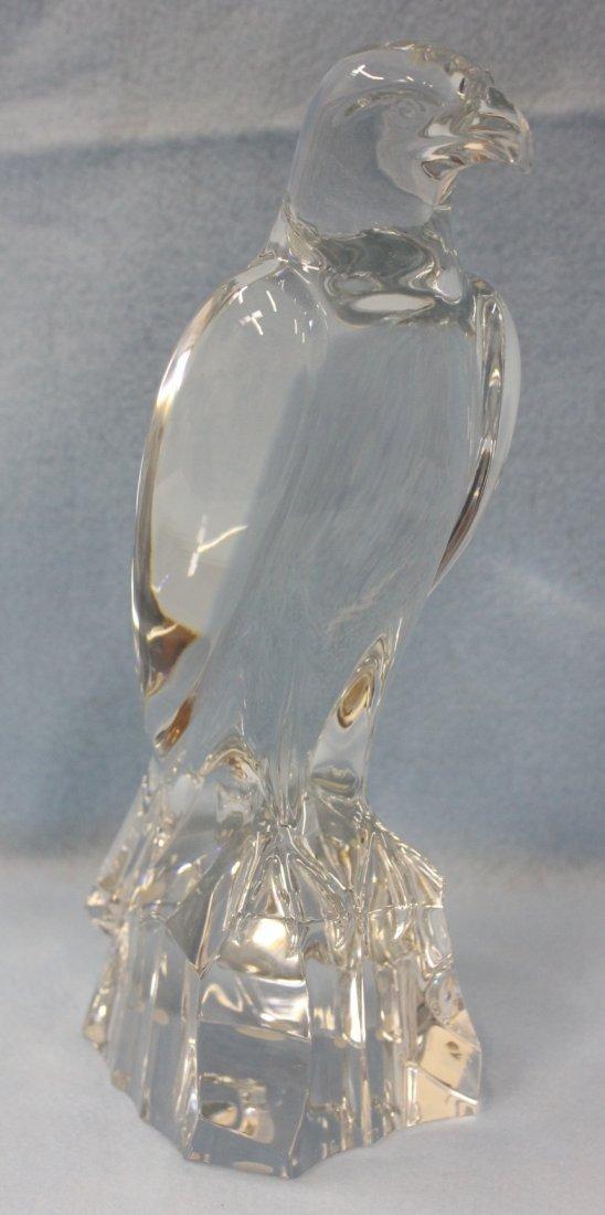 Beautiful Baccarat crystal falcon
