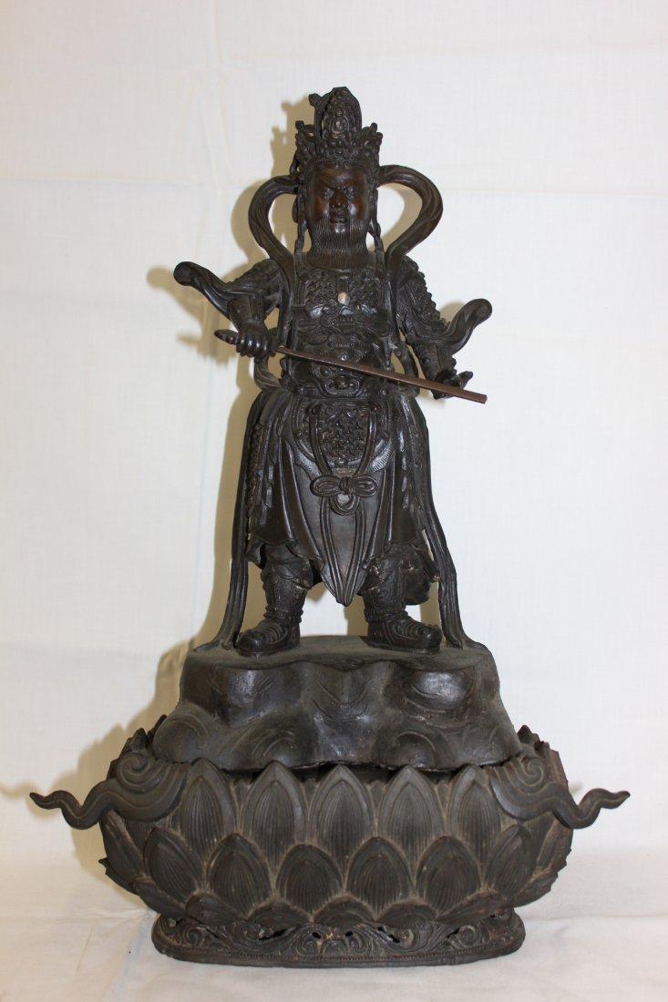 Chinese antique bronze sculpture of Buddha