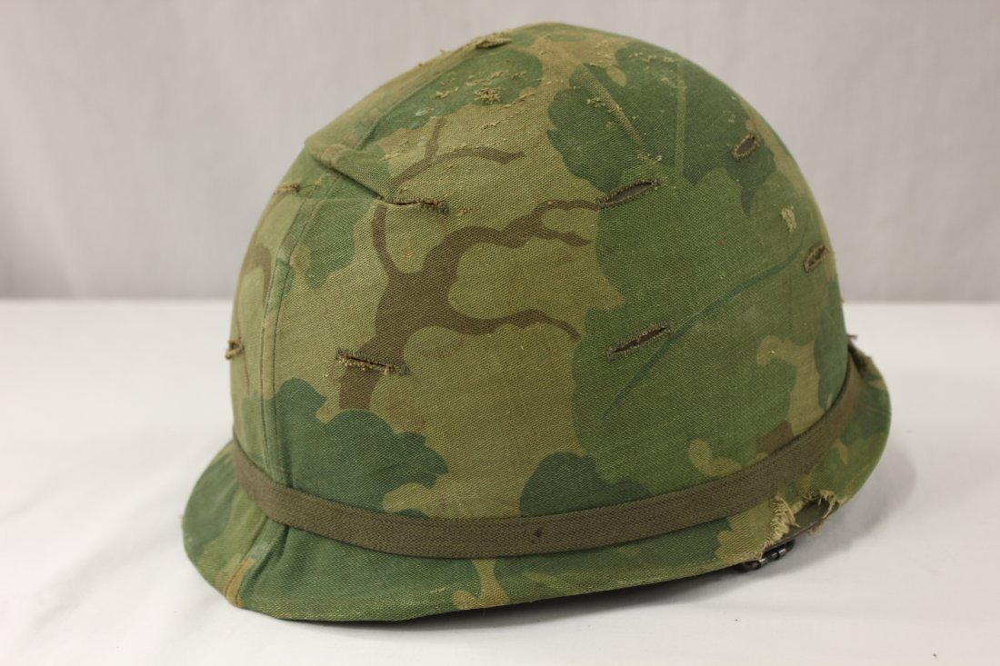 An original US WWII army helmet