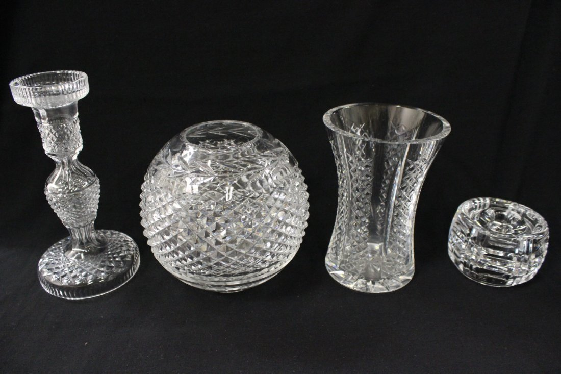 4 Waterford pieces