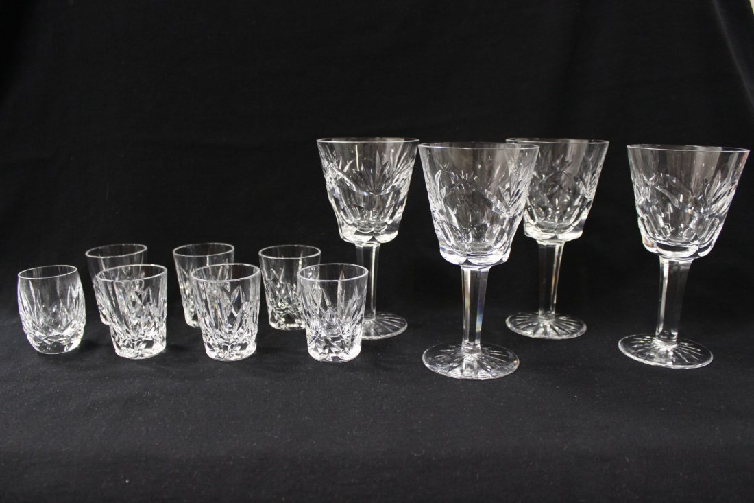 11 Waterford glasses