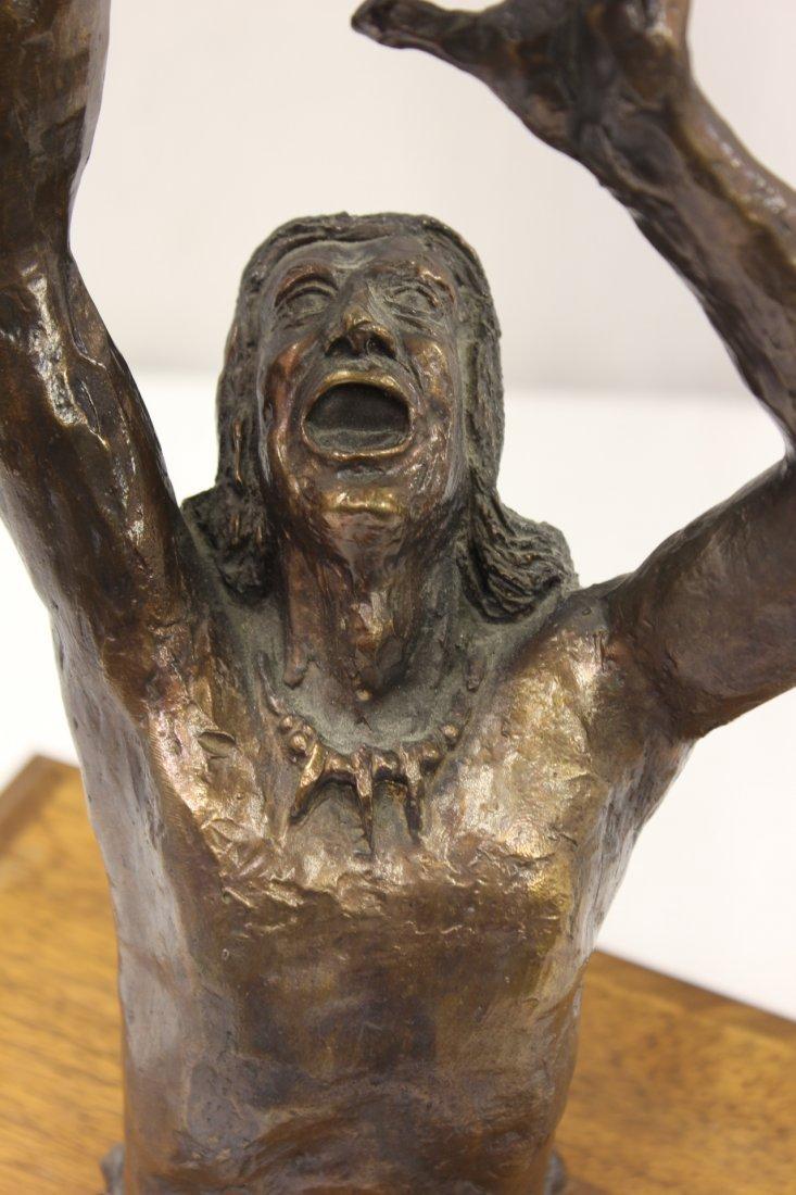 Bronze sculpture by American artist Wally Shoop - 5