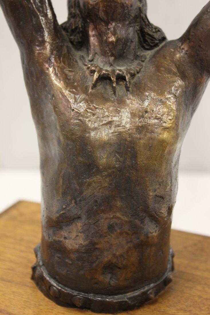Bronze sculpture by American artist Wally Shoop - 6
