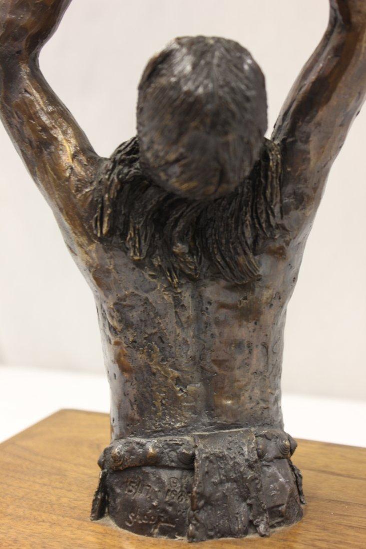 Bronze sculpture by American artist Wally Shoop - 7