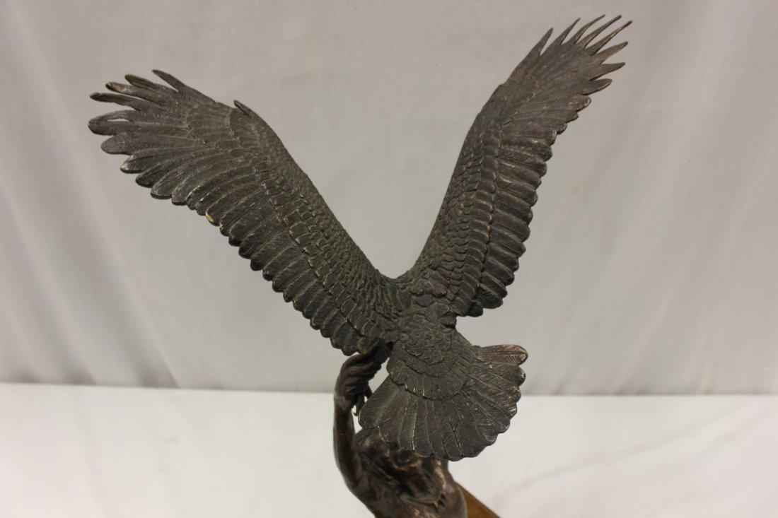 Bronze sculpture by American artist Wally Shoop - 9