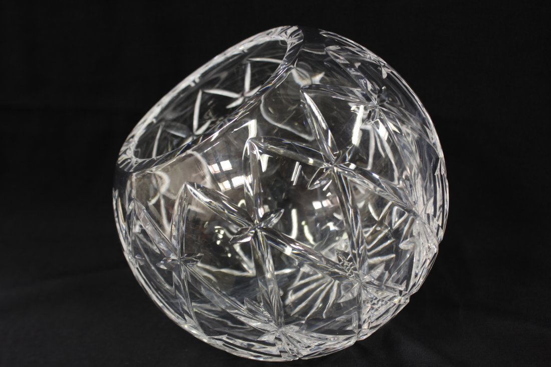 Large crystal rose bowl by Tiffany & co. - 7