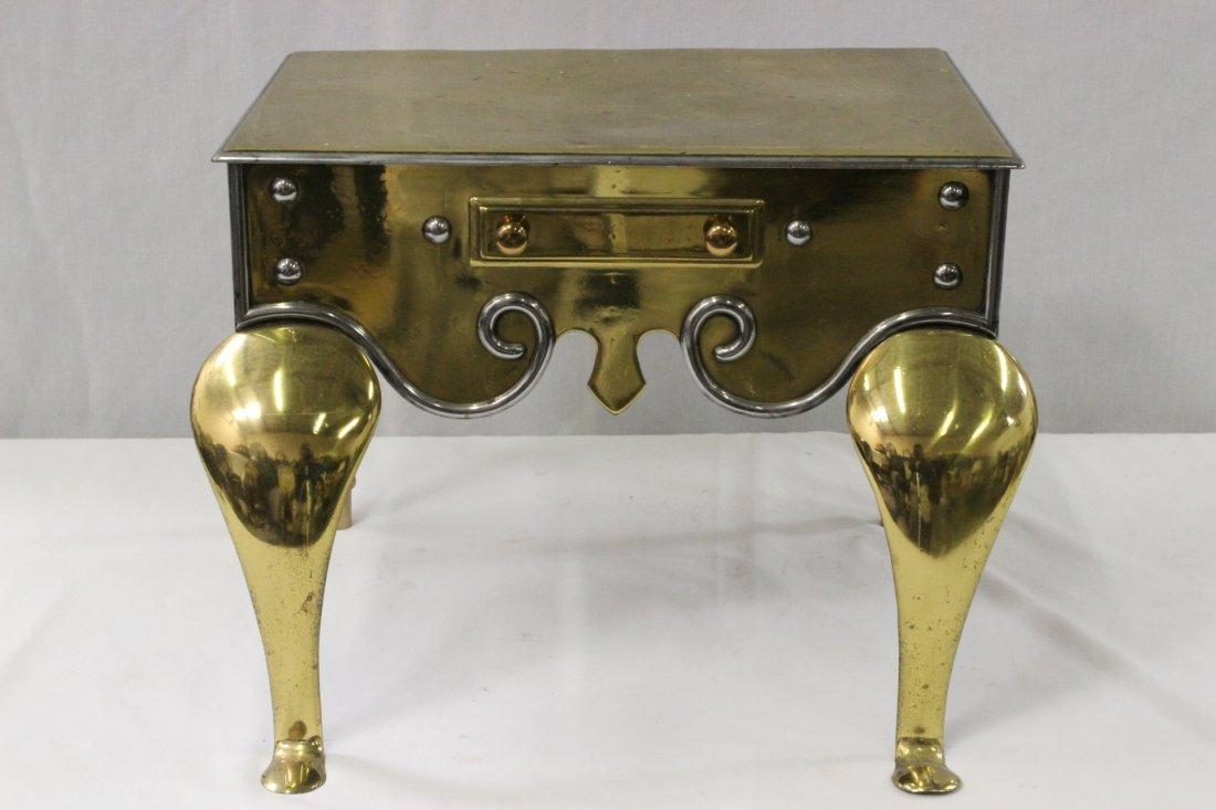English 18th/19th century brass footman