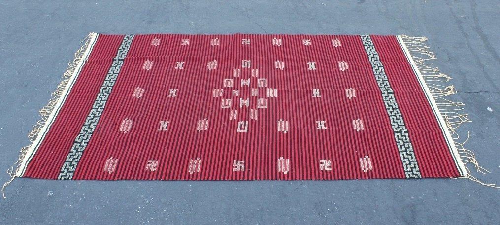 Vintage Chimayo Indian rug