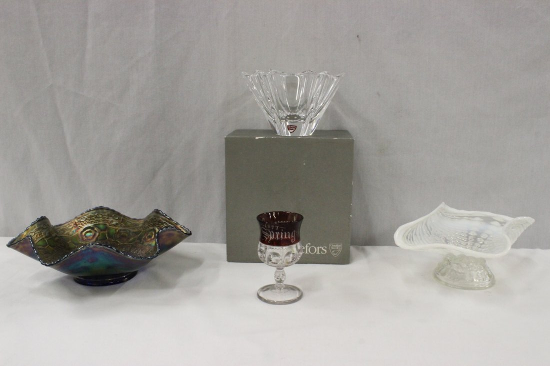 4pc glasses and crystal