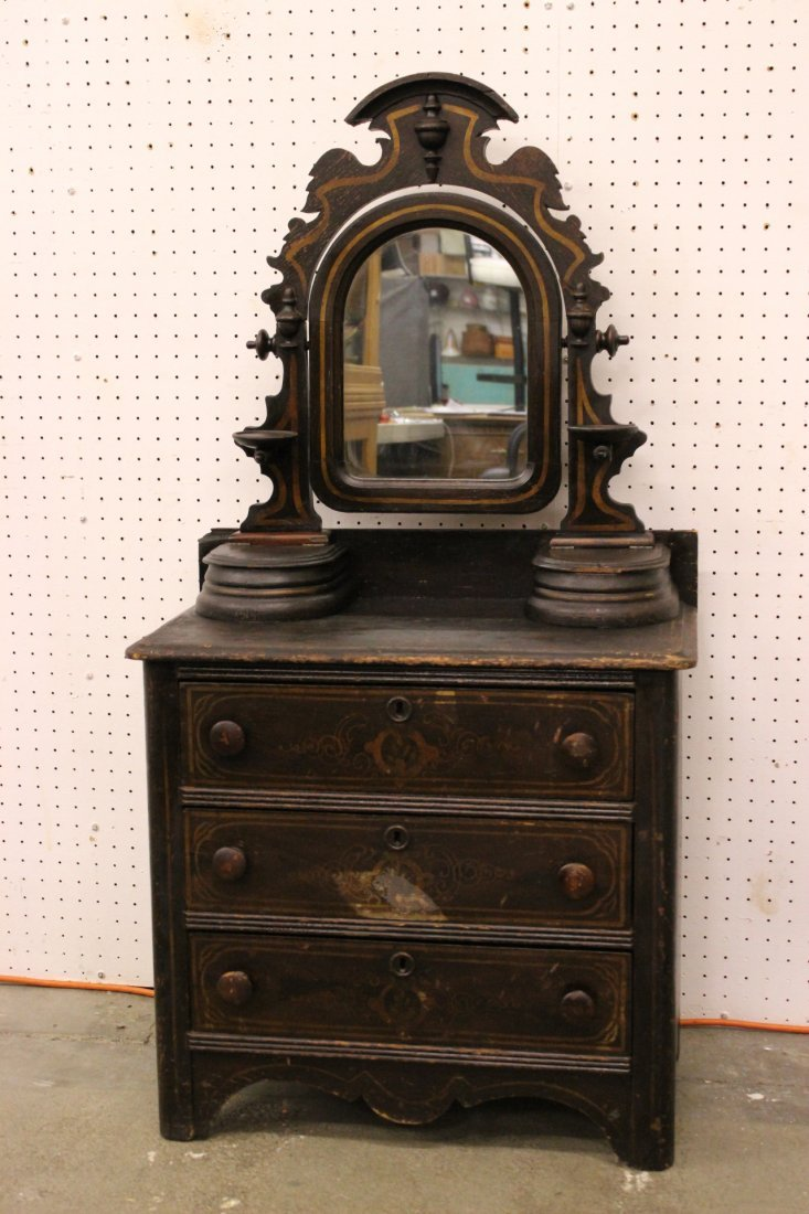 A rare Victorian children dresser
