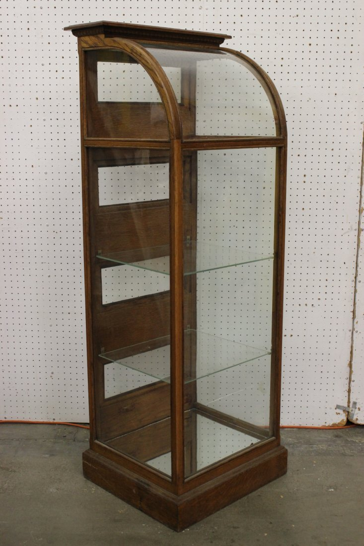 Victorian all glass display case