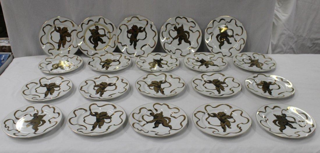 20 Neiman Marcus porcelain plates