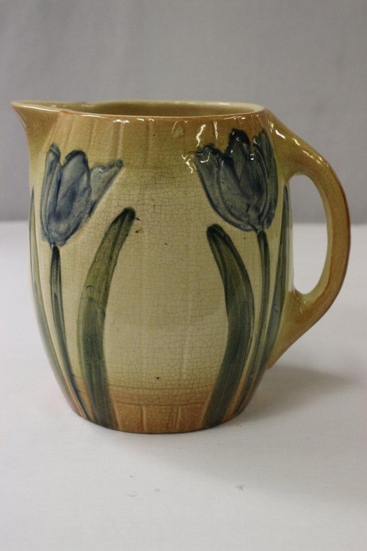 Early Roseville pottery pitcher