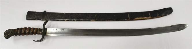 A rare 19th century Vietnamese officer sword