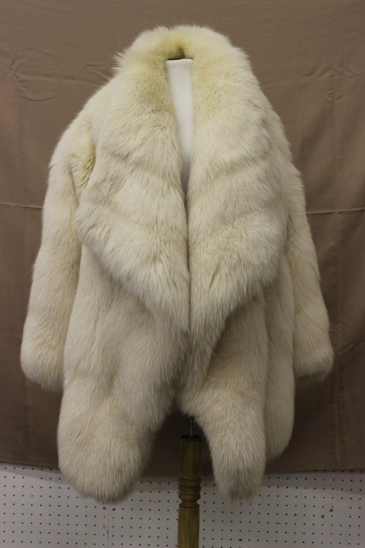 fancy lg size fox fur coat, made in Italy by Fendi