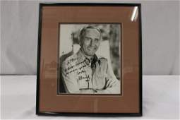 A rare signed wdedication photo of Henry Mancini