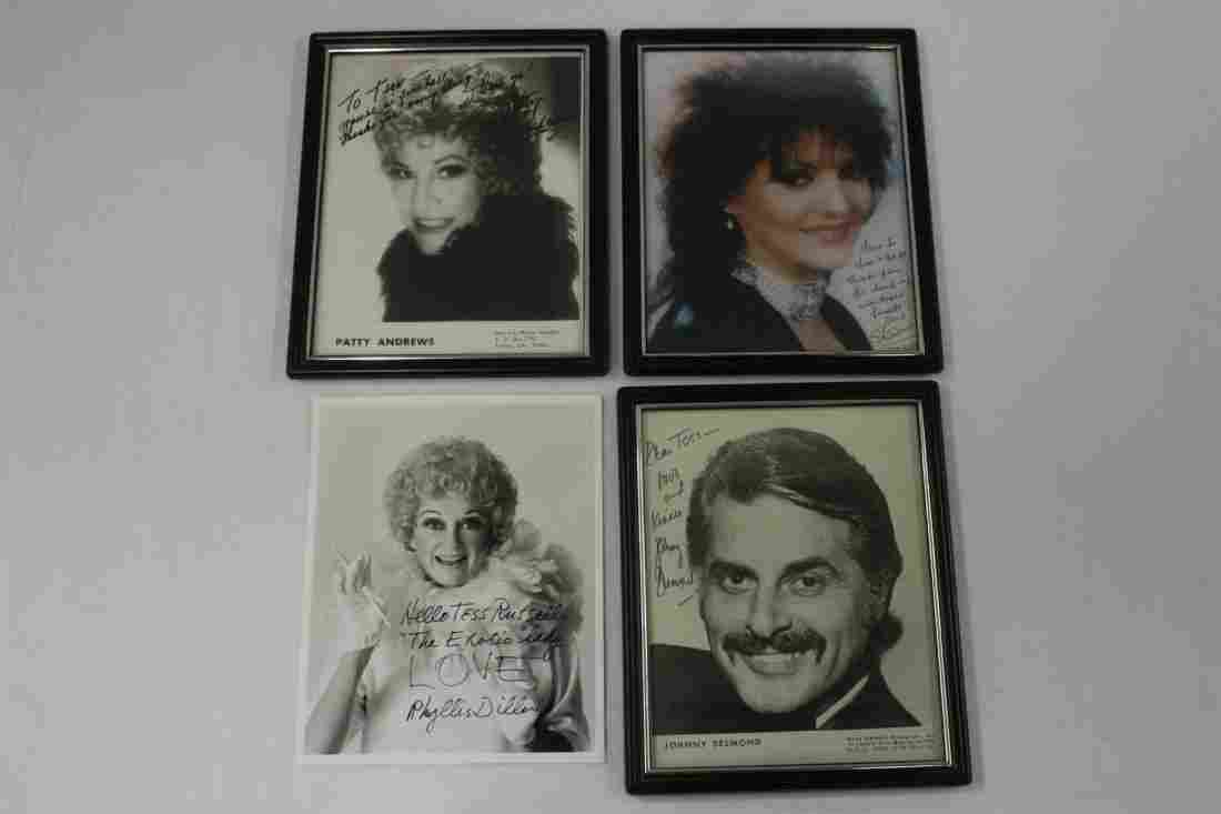 5 star signed photos all dedicated to Tess Russell