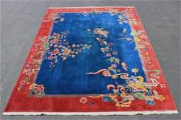 A beautiful Chinese early 20th century Nichols rug