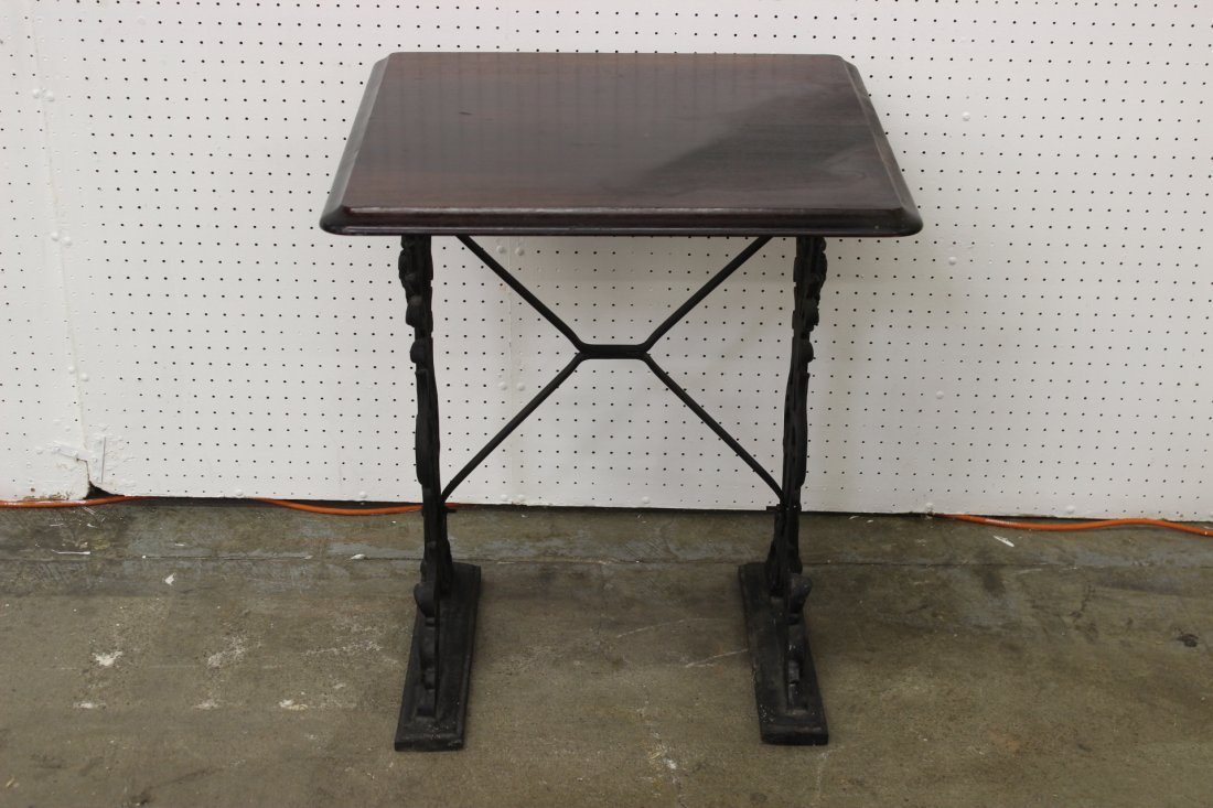 Victorian cast iron base stand