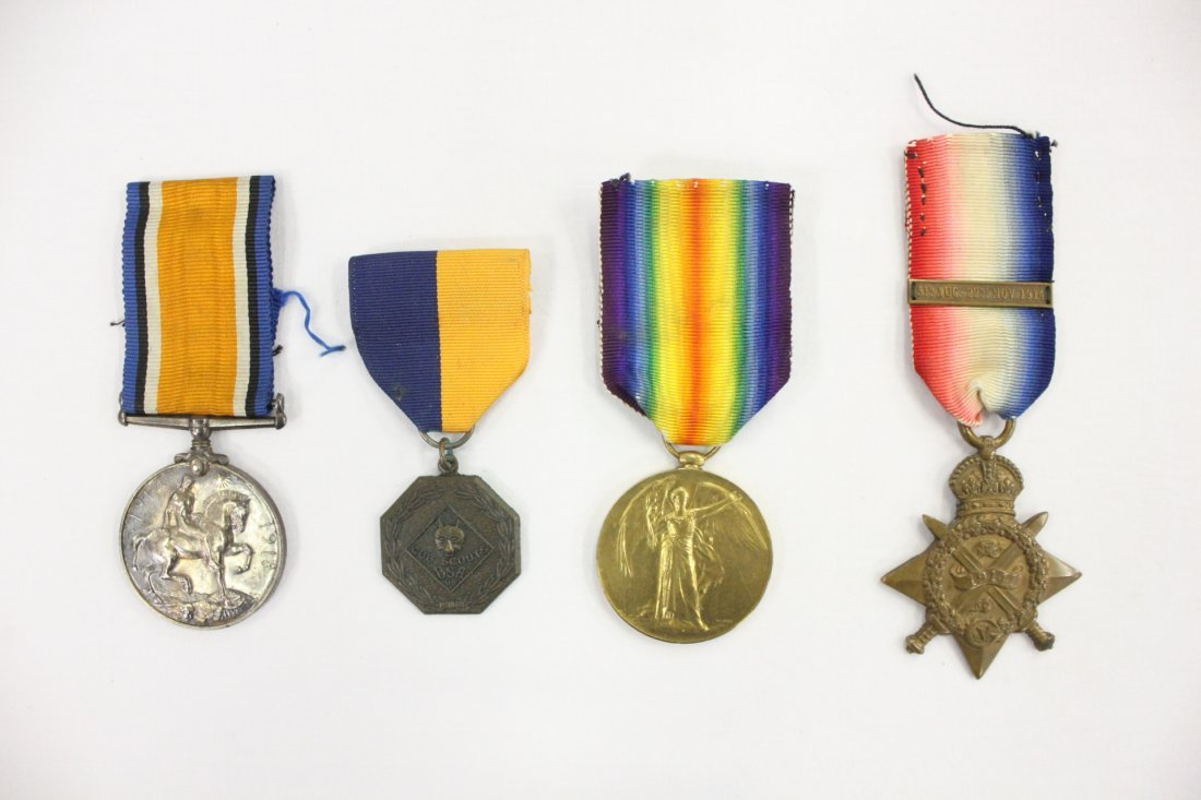 4 military medals